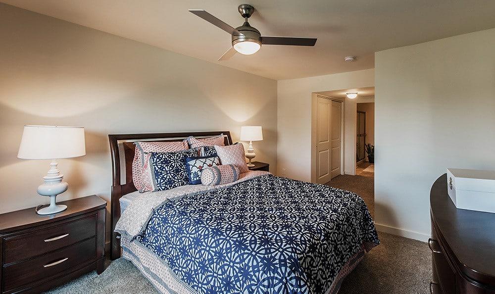 Bedroom At Apartments In Lexington Kentucky