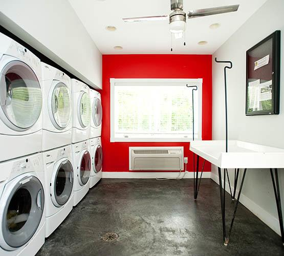 On-site laundry at apartments in Lexington, KY