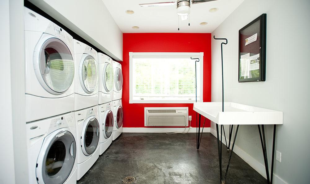 Laundry Room At At Apartments In Lexington Kentucky