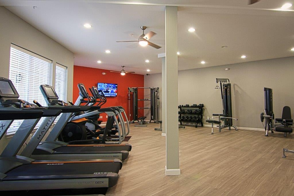 24 hour Fitness Center in apartments in North Chesterfield, VA