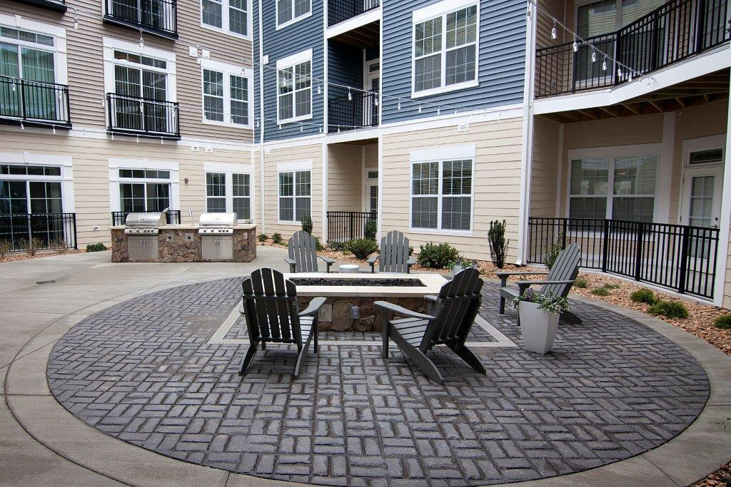 Firepit in apartments in North Chesterfield, VA