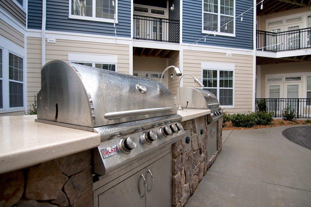 Grills at apartments in North Chesterfield, VA