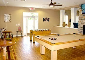 Billards At Apartments In Hampton Virginia