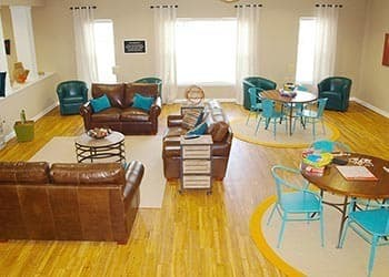 Clubroom At Apartments In Hampton Virginia