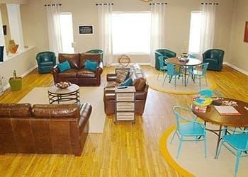Clubroom At Apartments In Hampton Virginia