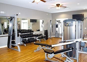 Fitness Center At Apartments In Hampton Virginia