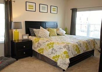 Master Bedroom At Apartments In Hampton Virginia