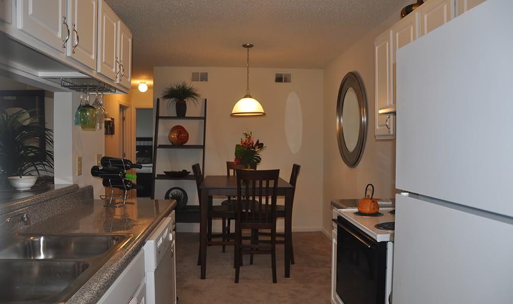 Dining Room At Apartments In Virginia Beach Virginia