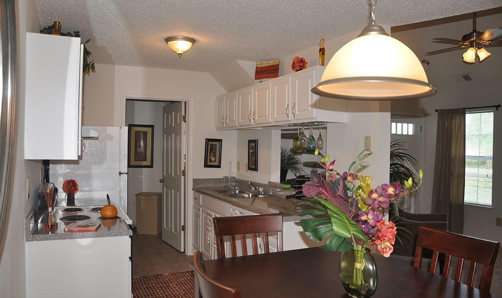 Kitchen At Apartments In Virginia Beach Virginia