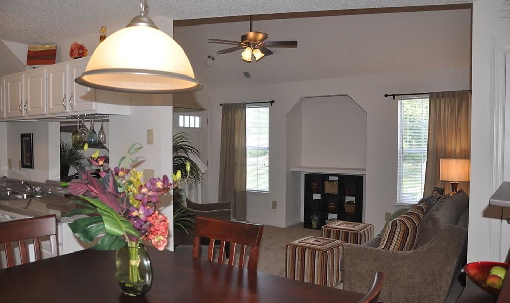 Living Room At Apartments In Virginia Beach Virginia
