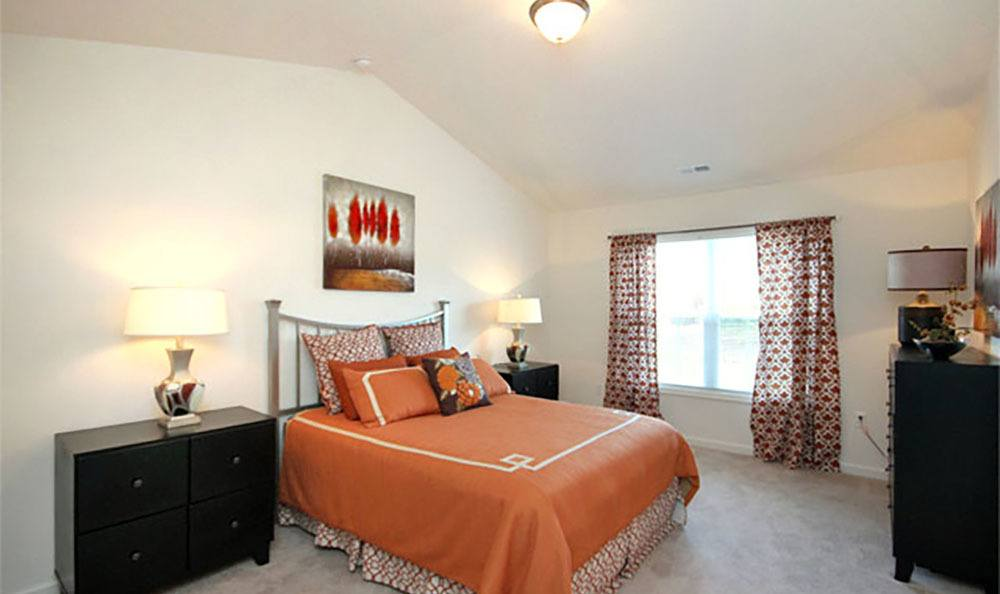 Bedroom At Townhomes In Chester Virginia