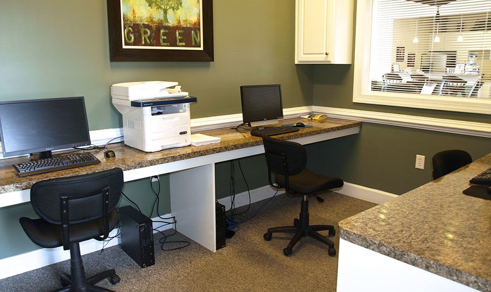 Business Center At Apartments In Chester Virginia