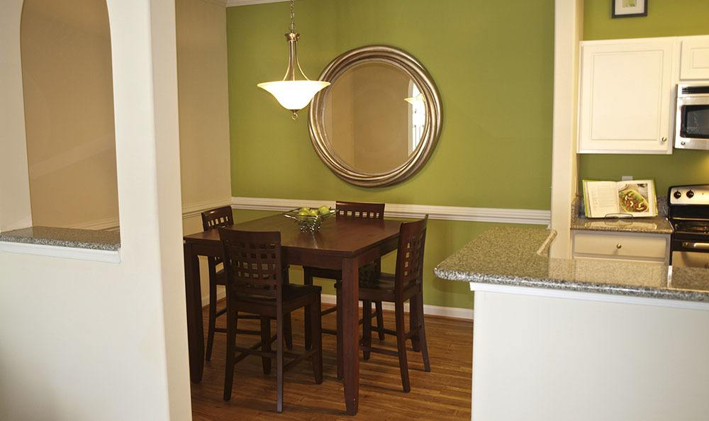 Dining Room At Apartments In Chester Virginia