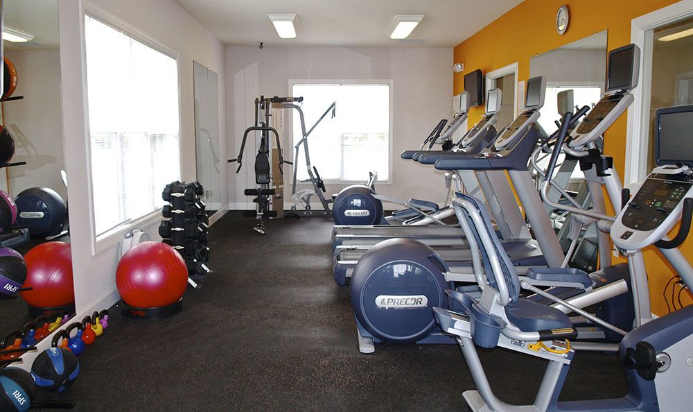 Exercise Facility At Townhomes In Chester Virginia