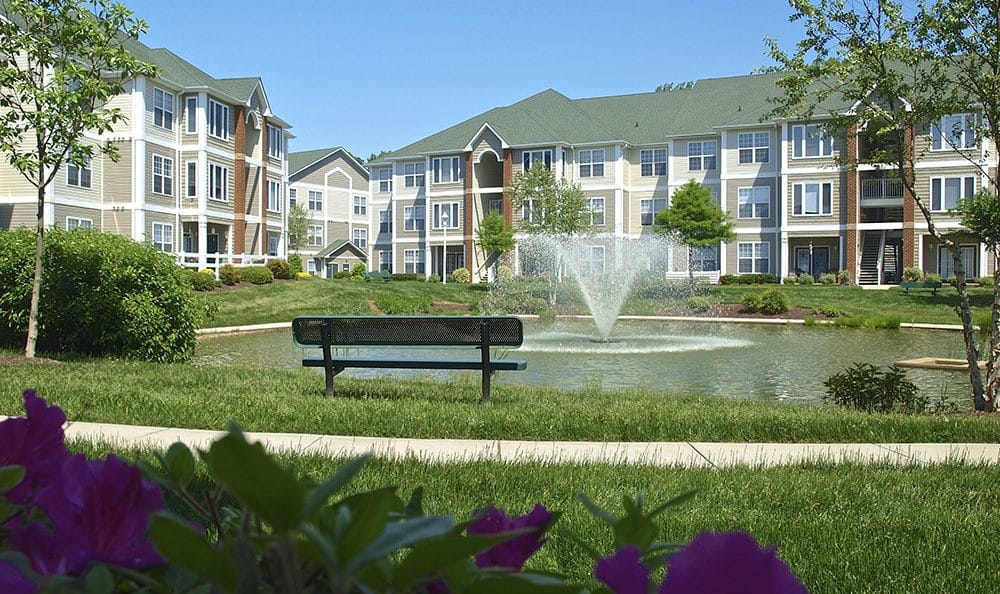Exterior Of Apartments In Chester Virginia