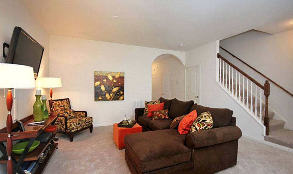 Open Floor Plans At Townhomes In Chester Virginia
