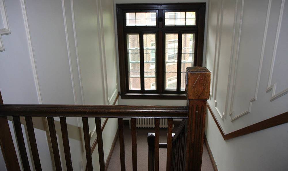 Stairway at Twin Oaks Manor Apartments
