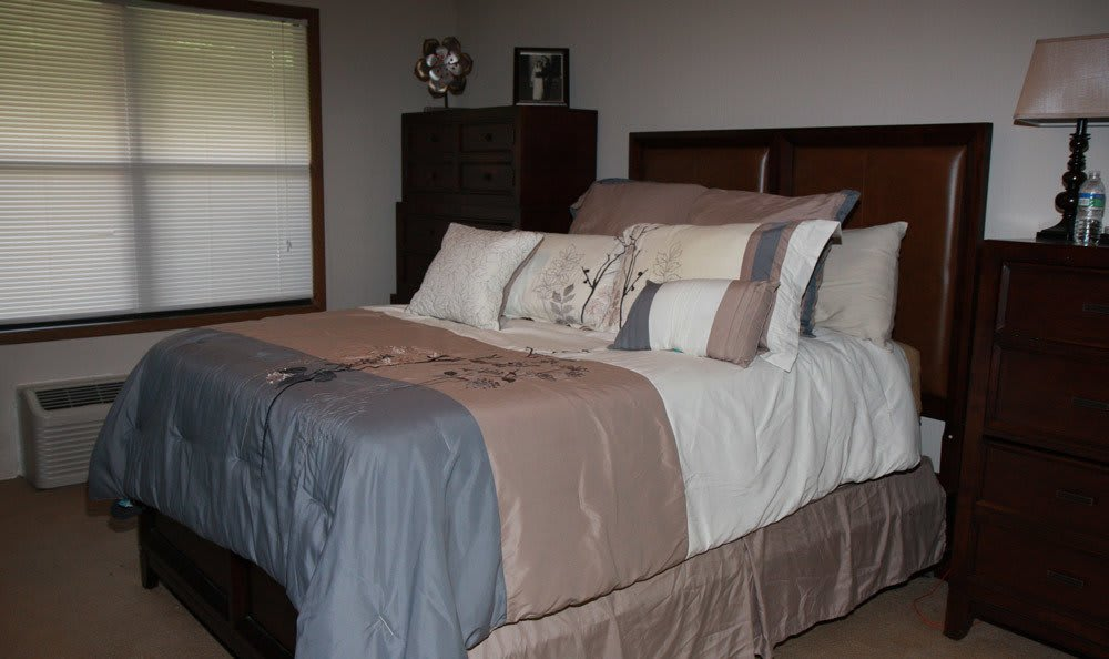 Model Bedroom At Beckford Place Apartments