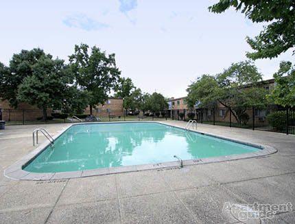 Pool at apartments in Lakewood