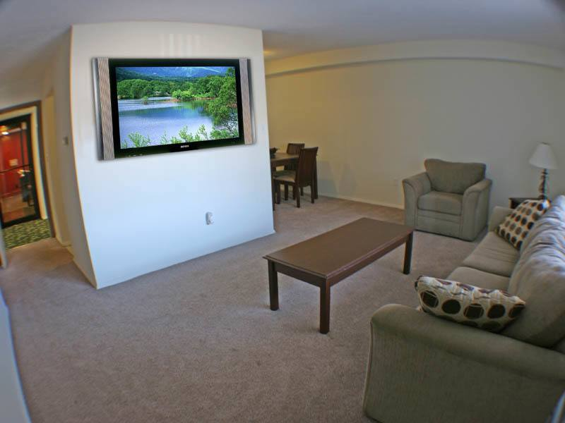 Living room at our senior community