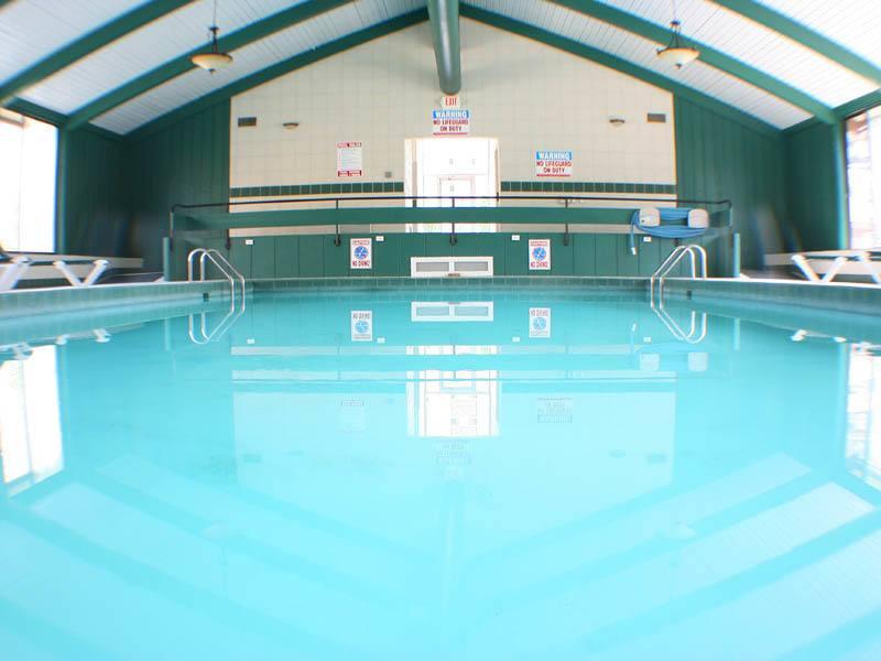 Pool at senior community in OH