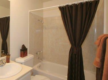 Furnished Bathroom at The Esplanade in Lake Balboa, California