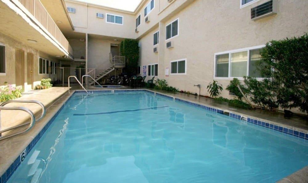 Swimming Pool at The Esplanade in Lake Balboa