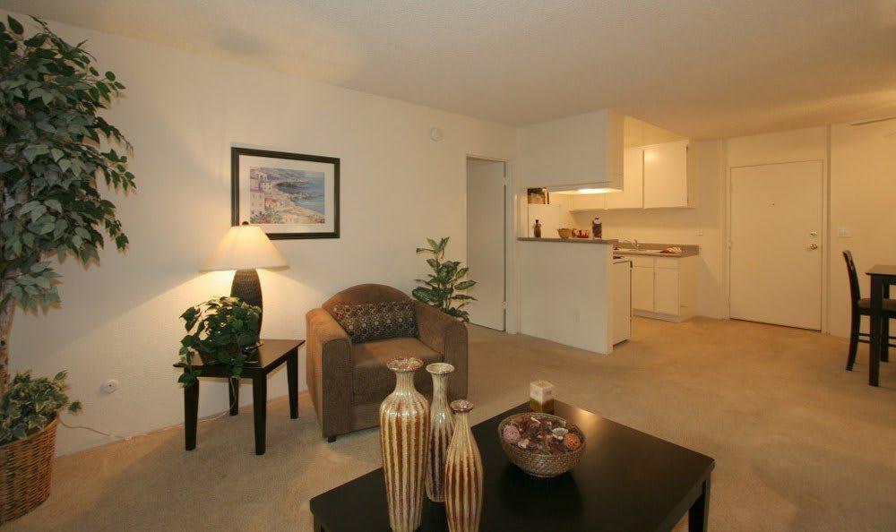 Livingroom at The Esplanade in Lake Balboa