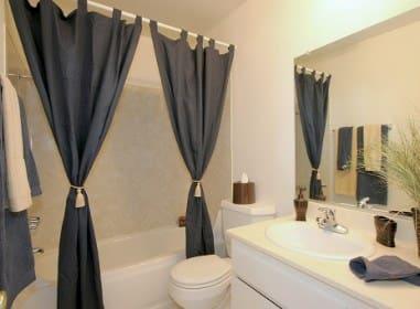 Bathroom at Embassy Apartments