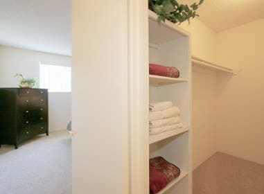 Walk-in Closet at Embassy Apartments