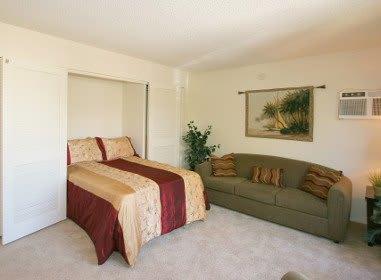 Bedroom at Embassy Apartments
