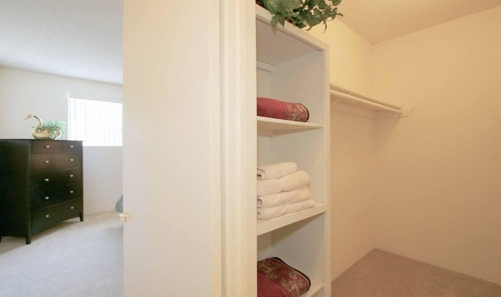 Master Closet At Embassy Apartments