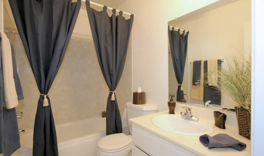 Model Bathroom At Embassy Apartments