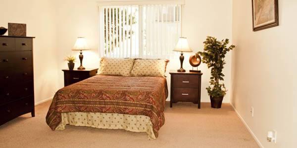 Spacious bedrooms at The Diplomat