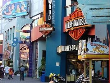 Universal City Walk in The Diplomat in Studio City