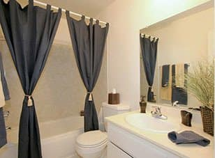Bathroom in Studio City apartments