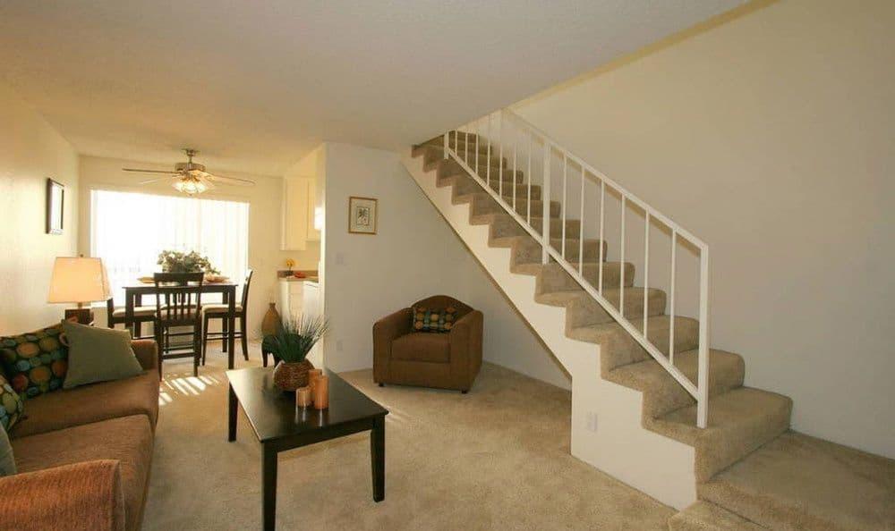 Vista Pointe I staircase in Studio City, CA