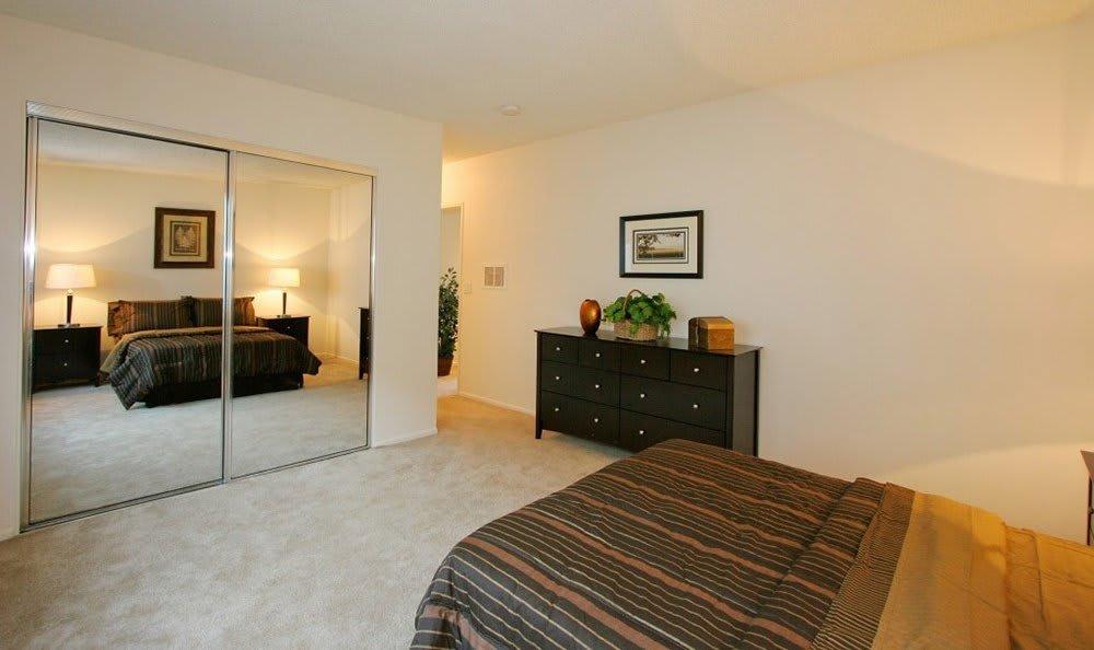 Model Bedroom At The Enclave