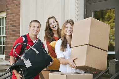 Storage for college students at Anytime Storage