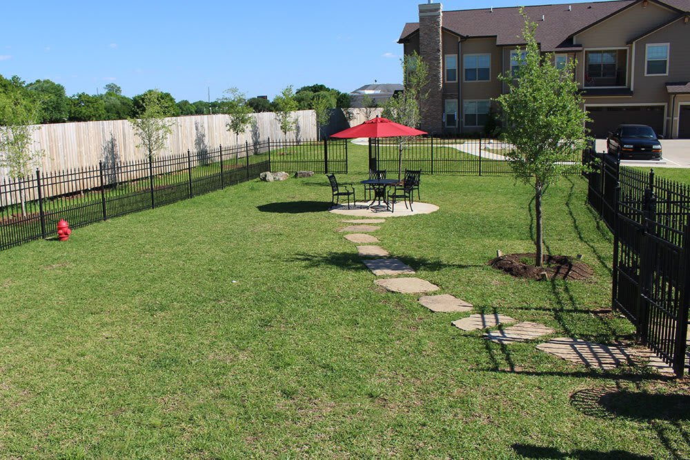 Enjoy taking your pet out for a run at our spacious dog park in Shreveport