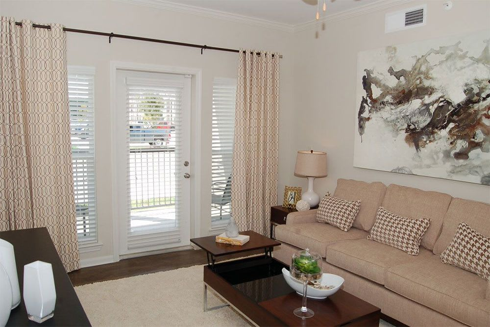 Decorate your apartment at RiverScape Apartment Homes to suit your taste and style