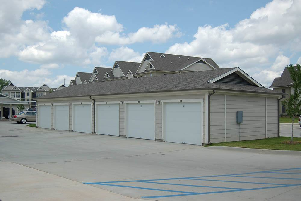 Carport Parking At Riverscape Apartments