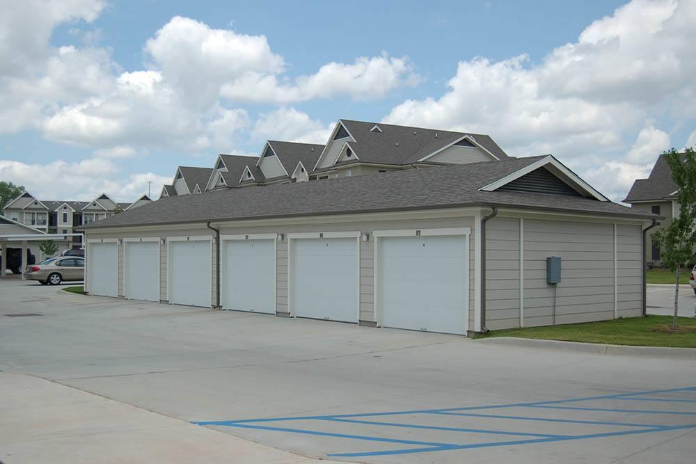 Carport Parking At Riverscape Apartments