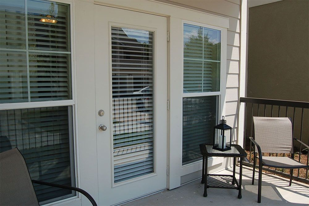 Our apartments in Shreveport feature relaxing shaded proches