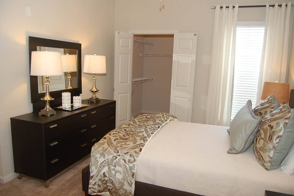 Scaled Down Bedrooms At Riverscape