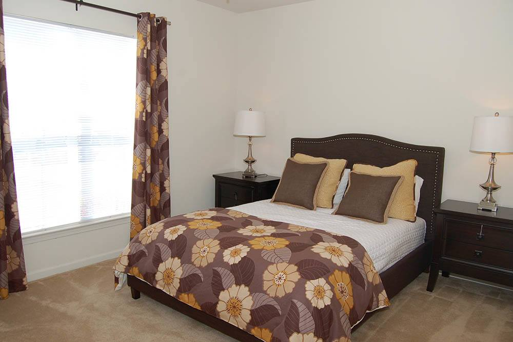 Master bedrooms at The Village at Westlake Apartment Homes