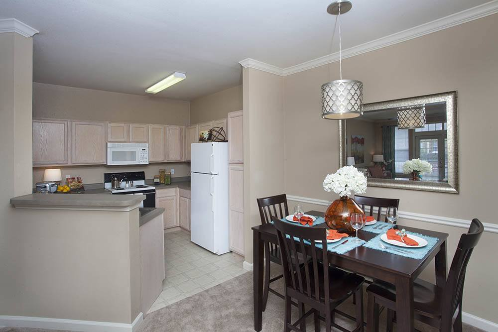 Kitchen Dinning Room Combos In Nelson Pointe Apartments