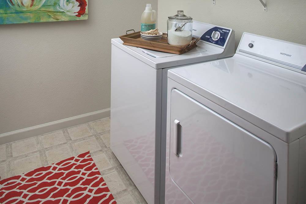 Provided Washer And Dryer In All Apartments At Nelson Pointe