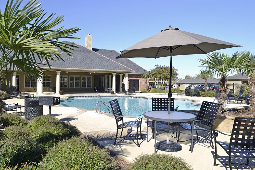 Shimmering Pool At Magnolia Trace