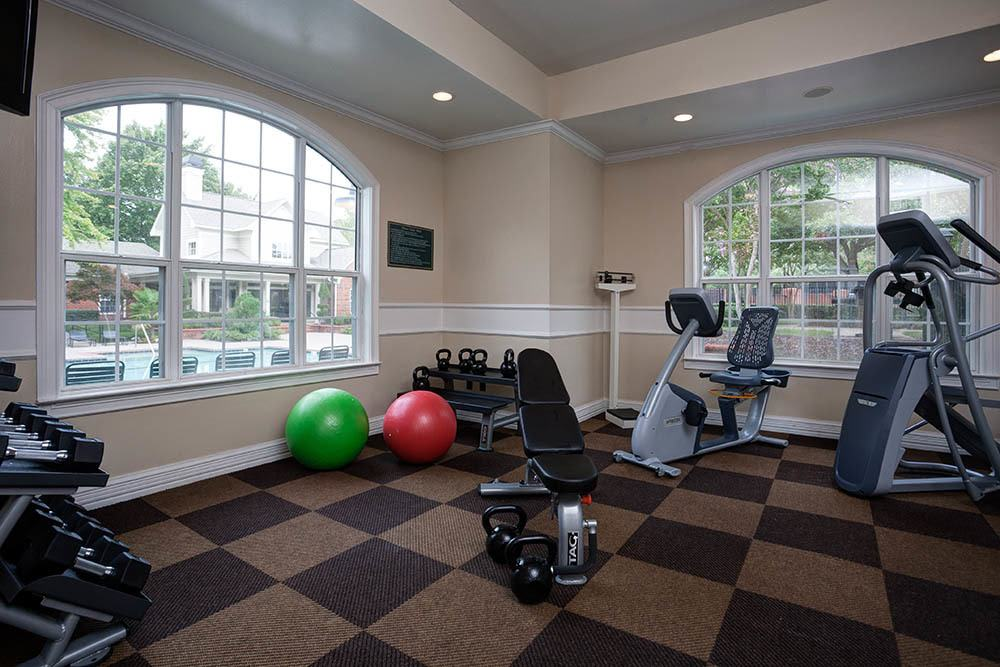 The Grove Apartments Has A State Of The Art Fitness Center